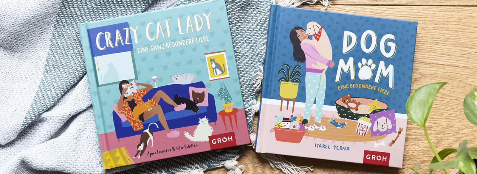Cover Groh Crazy Cat Lady Dog Mom
