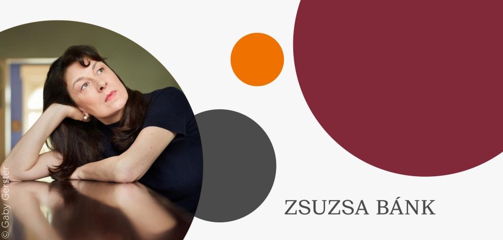 Teaserbild zum Interivew mit Zsuzsa Bánk zu ihrem Roman Schlafen werden wir später
