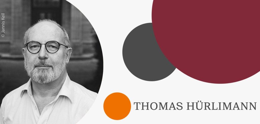Thomas Hürlimann erhält Gottfried Keller-Preis im Jubiläumsjahr 2019