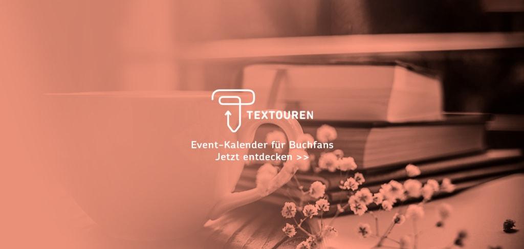 Banner Textouren Event-Kalender für Buchfans