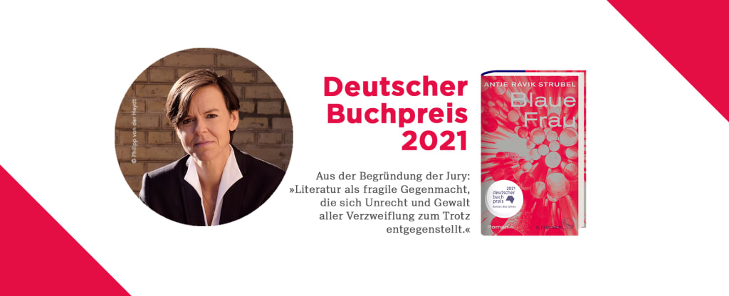 Antje Rávik Strubel erhält den Deutschen Buchpreis 2021