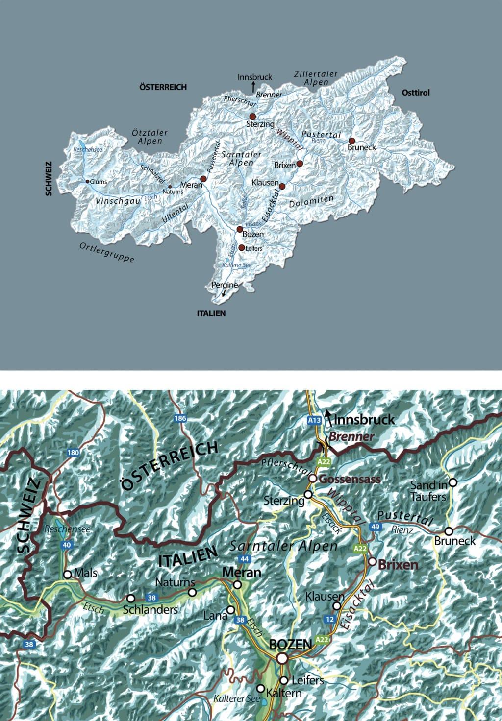 Die Karten zu »Nachts am Brenner«