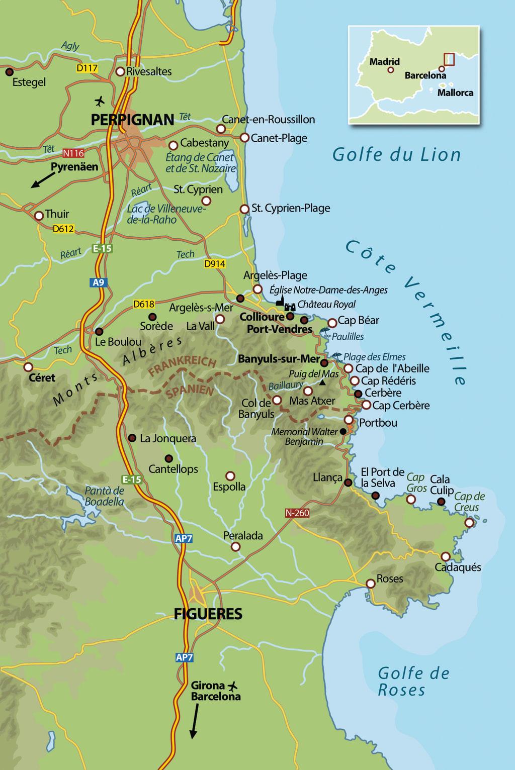 Die Karte zu »Johannisfeuer«