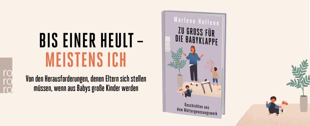 Banner zu Marlene Hellenes «Zu groß für die Babyklappe»