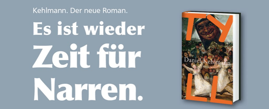 Banner Daniel Kehlmanns «Tyll»
