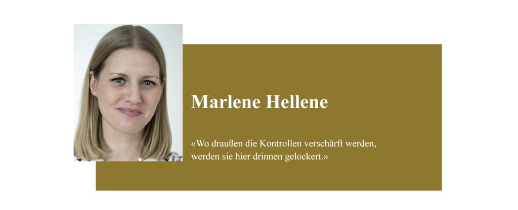 Banner zum Coronabeitrag von Marlene Hellene
