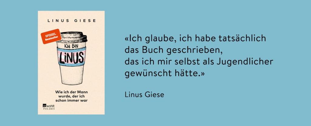 Zitat Linus Giese