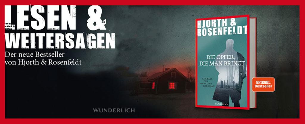 Banner zum neuen Buch von Hjorth & Rosenfeldt