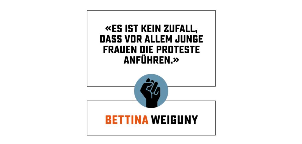 Zitat Bettina Weiguny