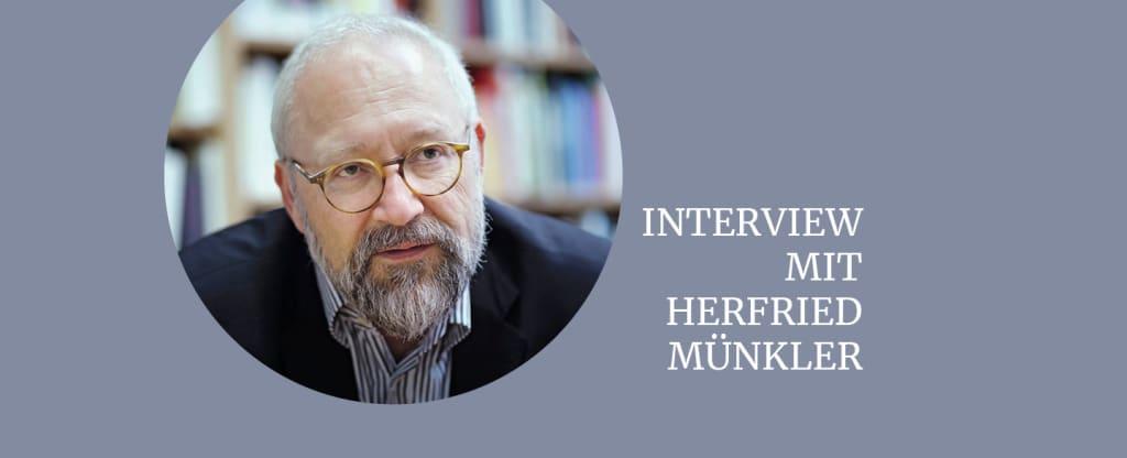 Foto vom Autor Herfried Münkler