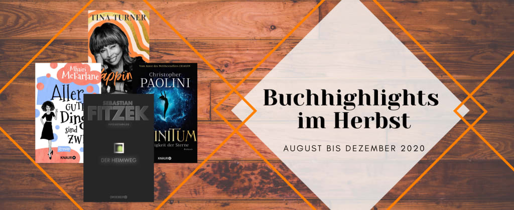 Buch highlights im Herbst