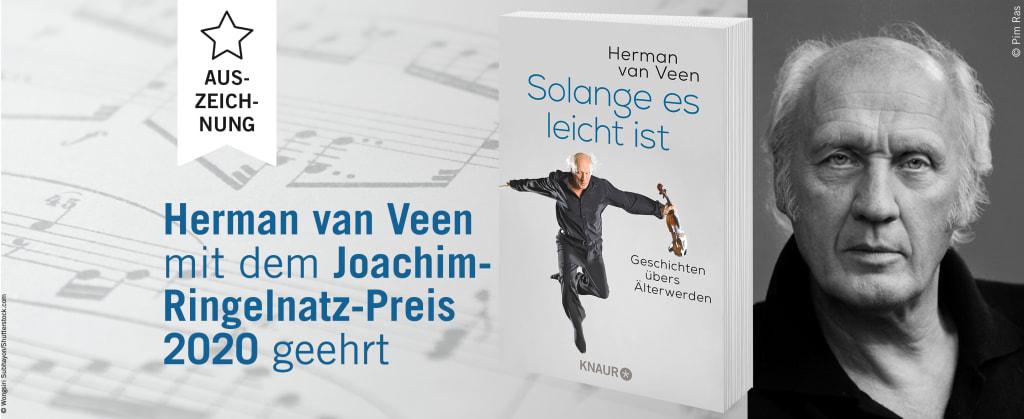 Herman van Veen mit dem Joachim-Ringelnatz-Preis 2020 ausgezeichnet