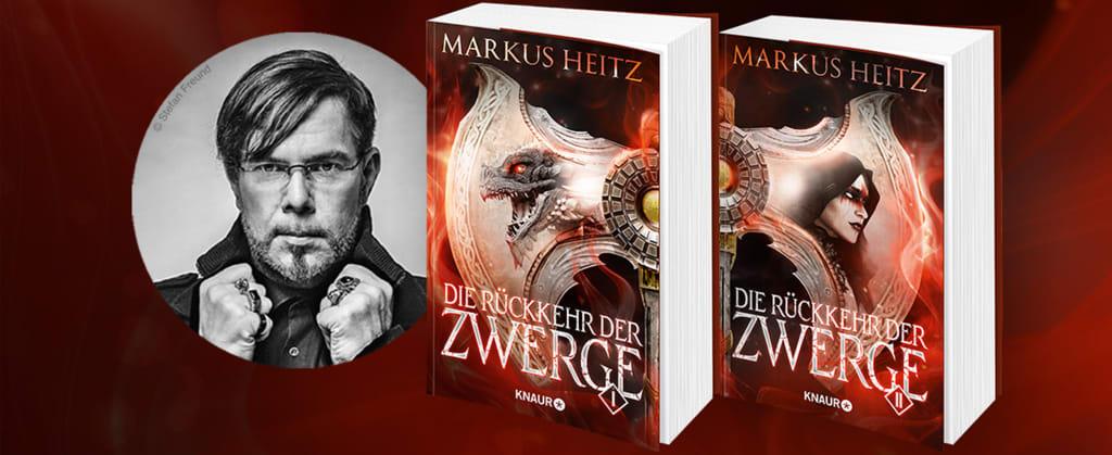 """Markus Heitz und die Doppelbände """"Die Rückkehr der Zwerge"""""""
