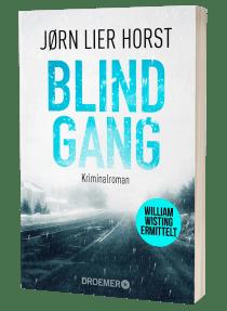 "Buchblock ""Blindgang"" von Jørn Lier Horst"