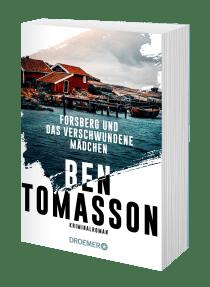 """Buchblock des Buches """"Forsberg und das verschwundene Mädchen"""" von Ben Tomasson"""