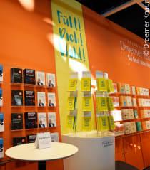 Der Droemer Knaur-Stand auf der Leipziger Buchmesse
