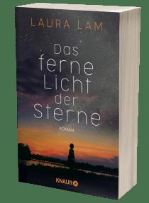 """Buchblock von """"Das ferne Licht der Sterne"""" von Laura Lam"""