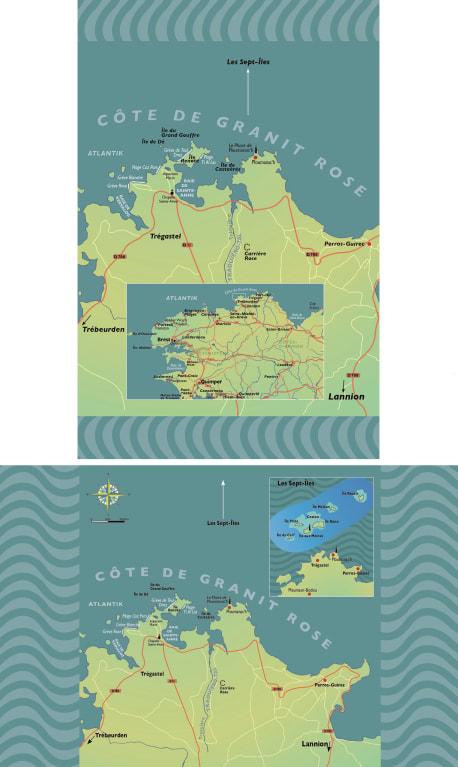 Die Karten zu »Bretonisches Leuchten«