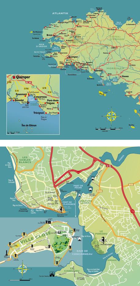 Die Karten zu »Bretonisches Vermächtnis«