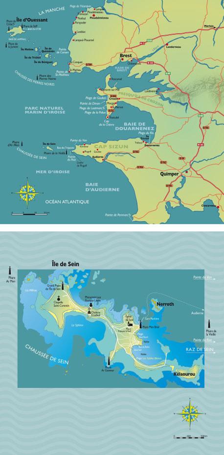 Die Karten zu »Bretonische Flut«