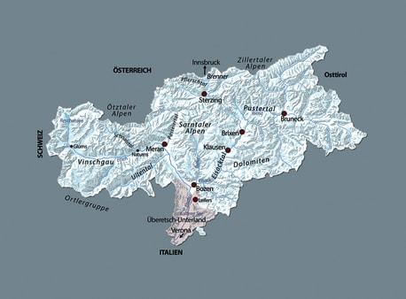 Die Karten zu »Tal im Nebel«