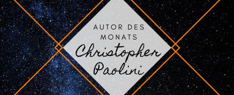 Autor des Monats: Christopher Paolini