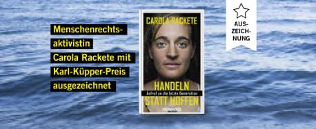 Auszeichnung_Carola Rackete_Karl-Küpper-Preis