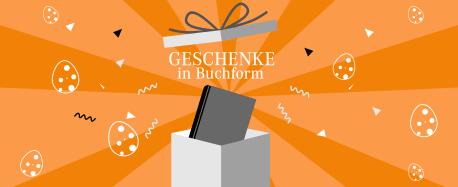 Buch in Geschenkverpackung - Text: Geschenke in Buchform