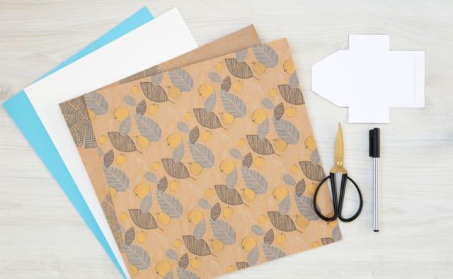 Materialien DIY Mini Briefe