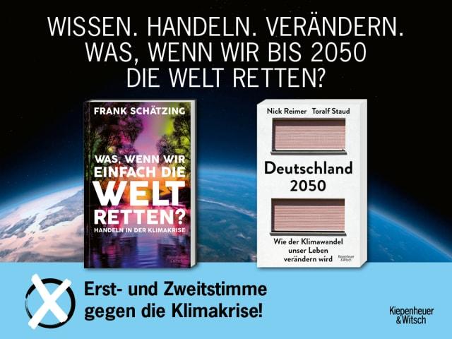 Wahlplakat_Schätzing_Staud-Reimer_Buchcover