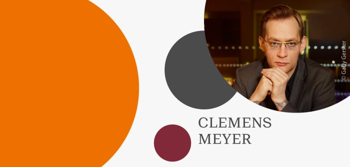 Clemens Meyer wird ausgezeichnet mit dem Klopstockpreis für neue Literatur