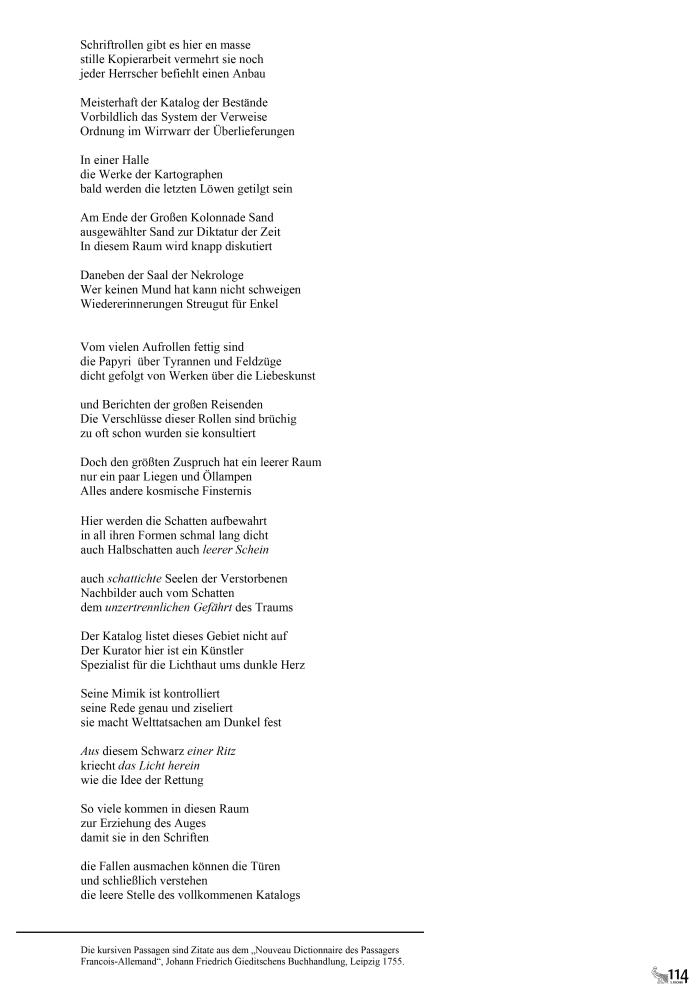 114 Lyrik Sartorius
