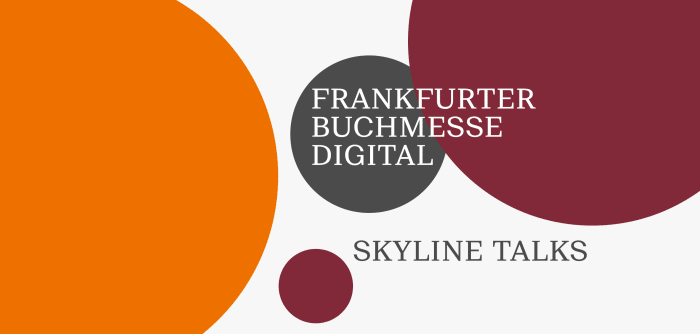 Frankfurter Buchmesse Digital: Skyline Talks auf der Dachterasse: Teaserbild