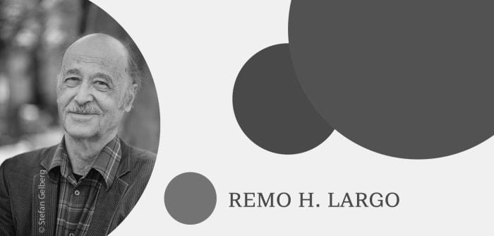 Grafik mit Autorenfoto von Remo H. Largo
