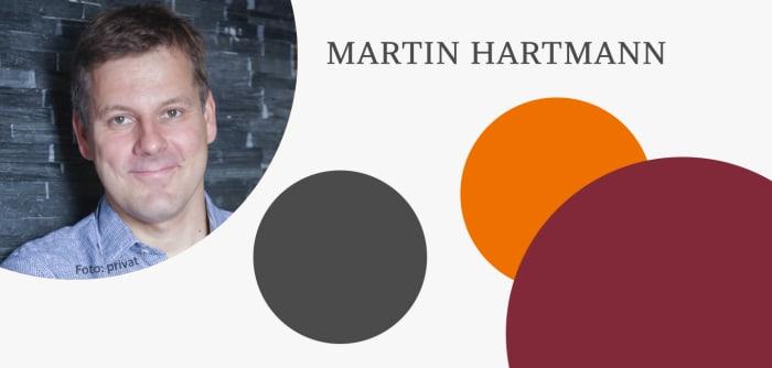Grafik mit Autorenfoto von Martin Hartmann