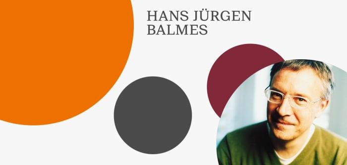 Grafik mit Foto von Hans Jürgen Balmes