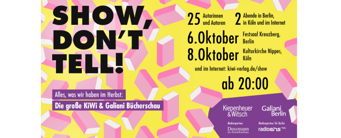 Show don't tell Magazin