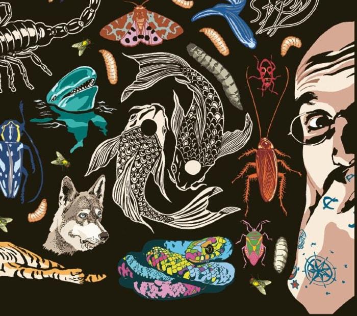 """Vorschaubild auf das """"Illustrirte Thierleben"""" von Mark Benecke und Kat Menschik"""
