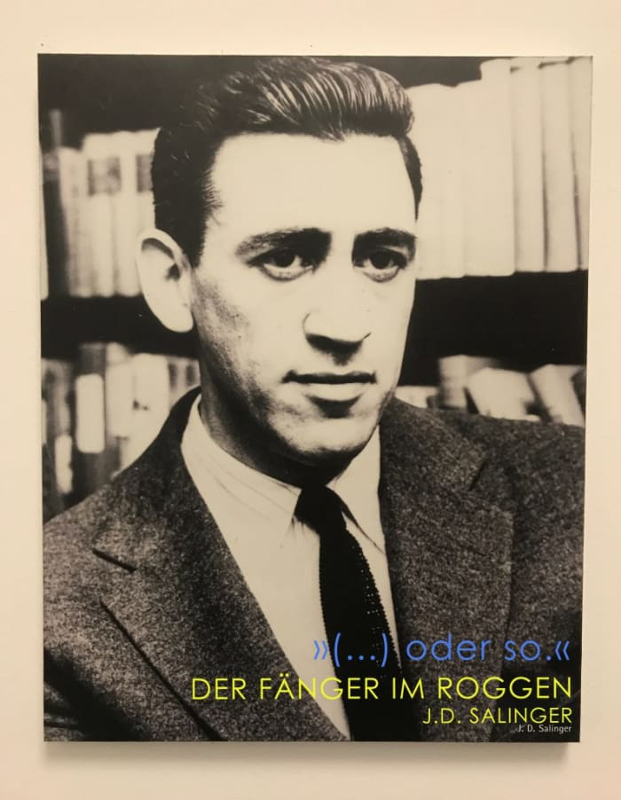 Salinger Autorenwand