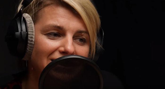 Screenshot aus einem Video zum Podcast der Kiwi Musikbibliothek