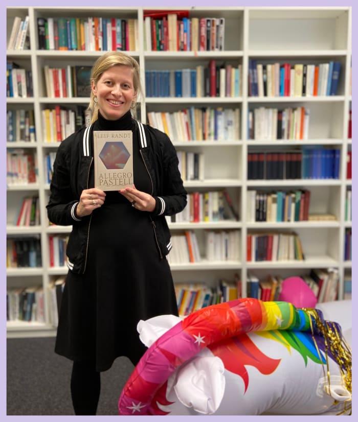 Lektorin Sandra Heinrici über »Allegro Pastell« von Leif Randt