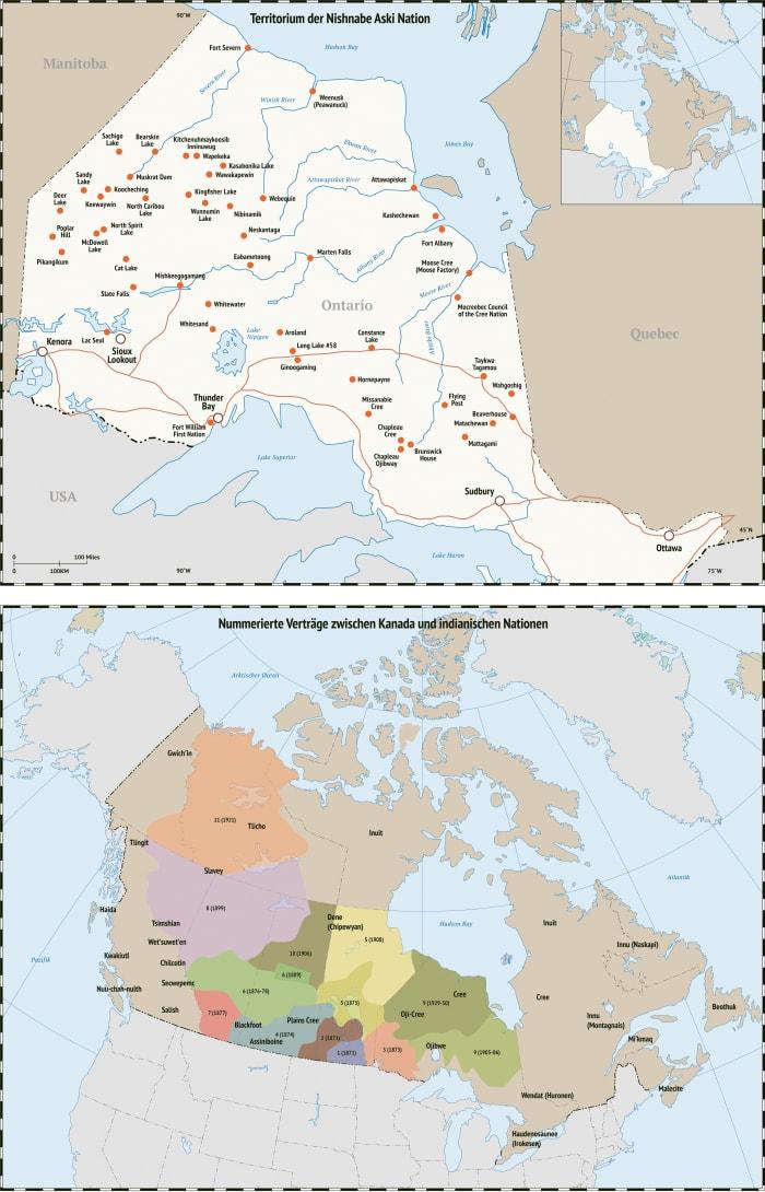 Die Karten zu »Unter dem Nordlicht«