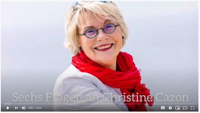 Von hier bis ans Meer - Sechs Fragen an Christine Cazon