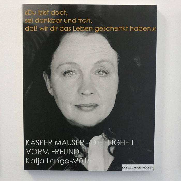 Autor*innenwand Katja Lange-Müller