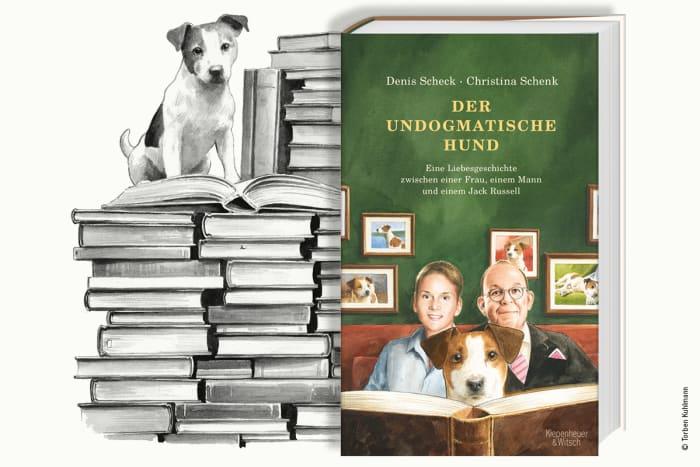Scheck-Schenk_der_undogmatische_Hund_Cover_Zeichnung