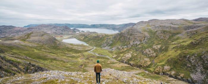 Finnisches Landschaftsfoto