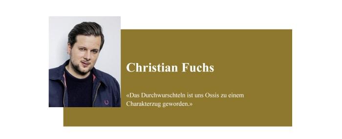Banner zum Coronabeitrag von Christian Fuchs