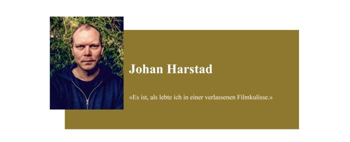 Banner zum Coronabeitrag von Johan Harstad