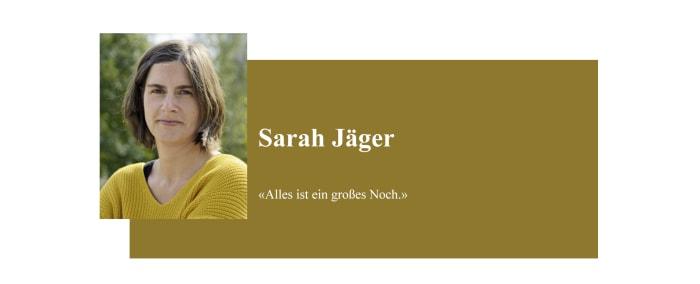 Banner zum Coronabeitrag von Sarah Jäger