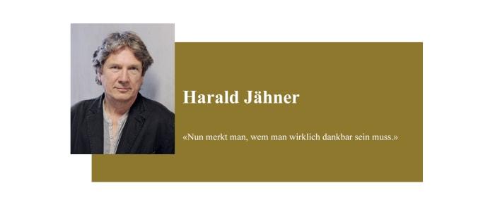 Banner zum Coronabeitrag von Harald Jähner